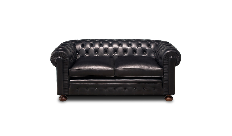 Chester Antic Cuir 2 Seater Sofa